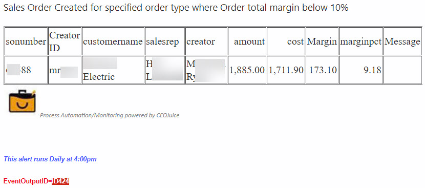 ID424 - Sales Order Created for Specified Order Type where