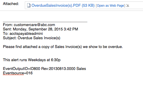 Id800 Email Past Due Invoice Overview Sample Ceo Juice
